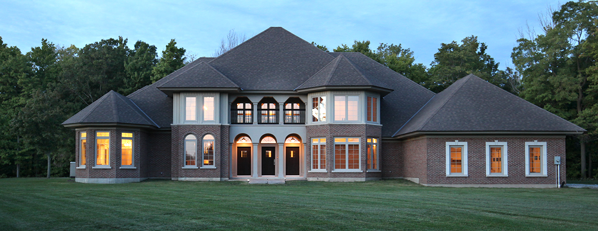 luxury estate in Port Ryerse near Port Dover, acres